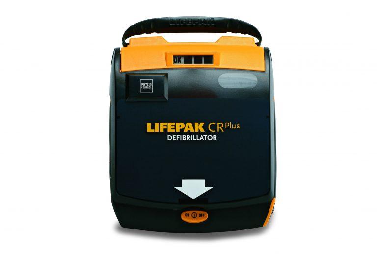 LIFEPAK CR Plus defibrillaattori, puoliautomaattinen