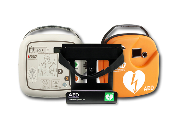 i-PAD SP1 defibrillaattori seinätelineellä + huoltosopimus