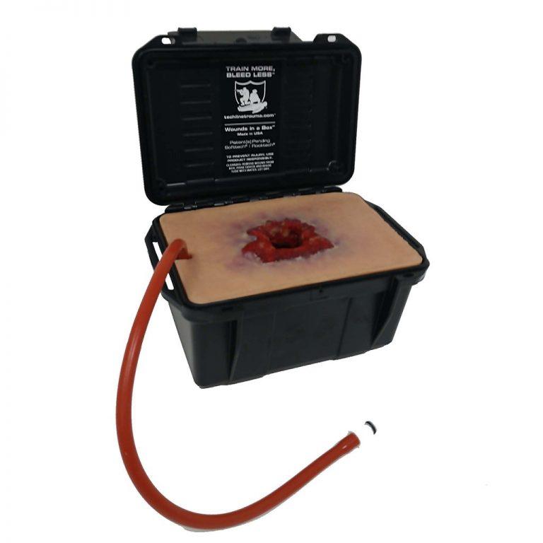 Wound in a box- haavanpakkaussimulaattori